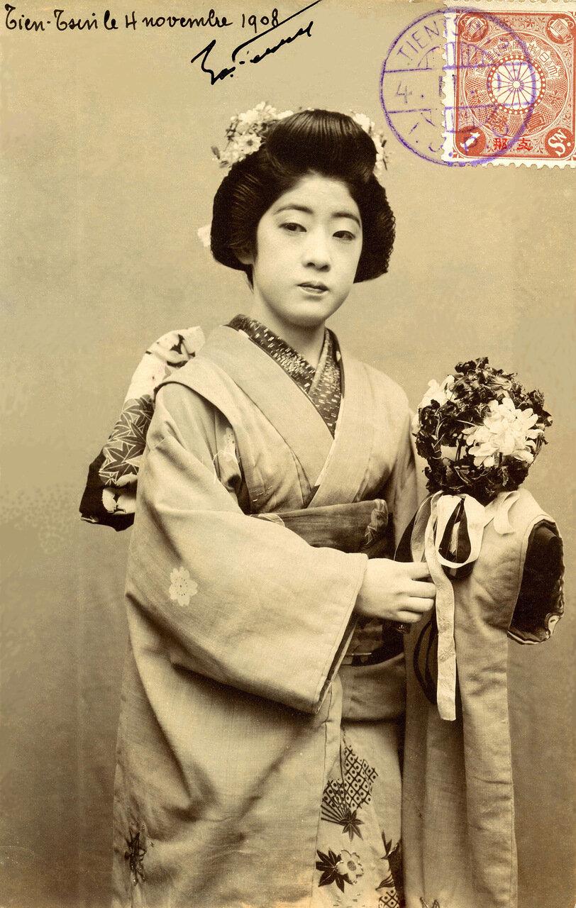 1908. Майко (ученица гейши)