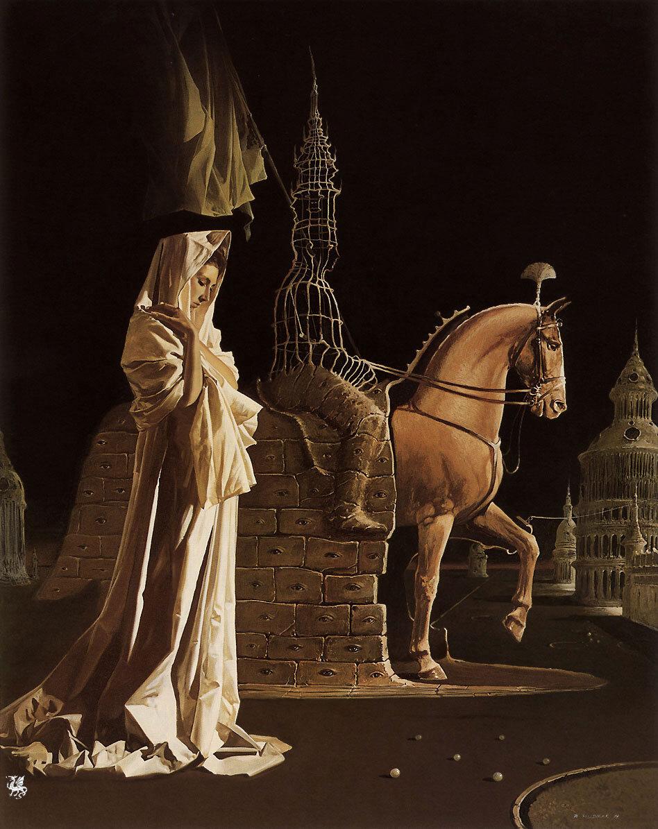 Конная статуя Загадки
