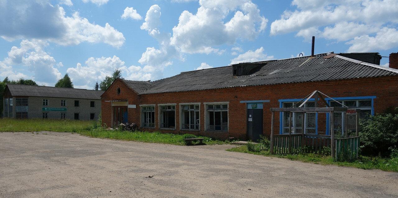 разруха в деревне Петрищево