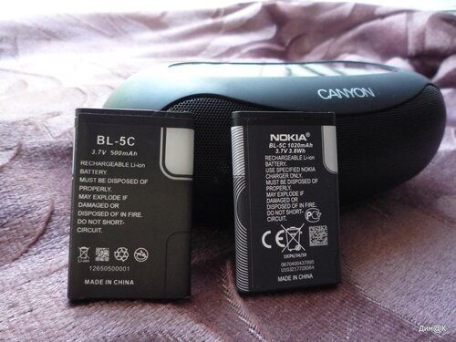 Canyon CNA-BTSP01 (2 аккумулятора)