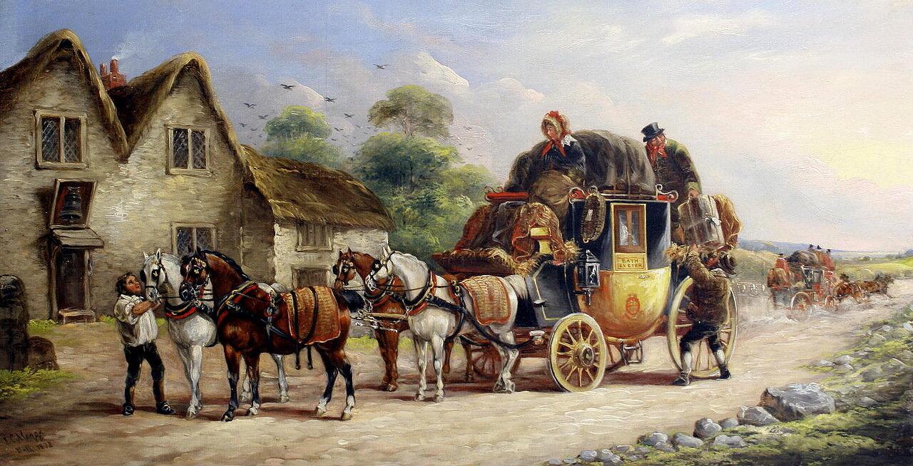 John Charles Maggs (British, 1819-1895) - Royal Coach