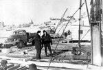 10. 14 февраля 1961 года. Рабочий мост. Сооружение опер. Бойка шпунта..jpg