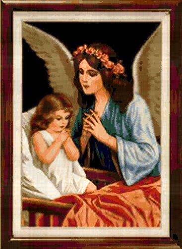 вышивка ангелов схемы Скачать