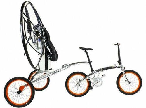 Необычный велосипед к полету готов!