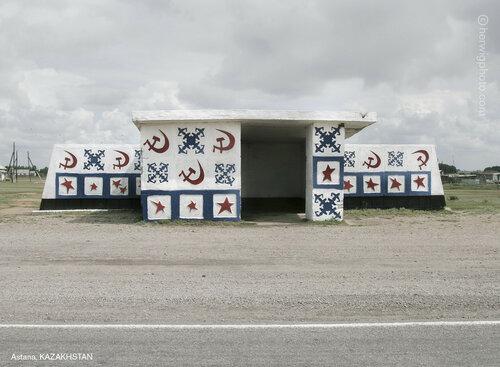 Автобусные остановки советских времен в фотографиях от канадского путешественника