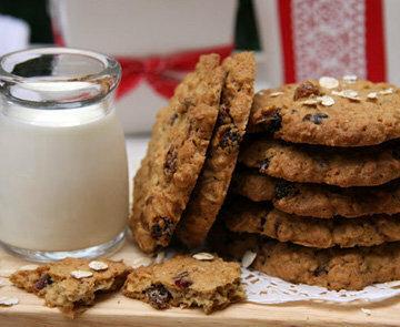 Овсяное печенье с молоком