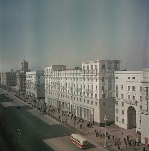 Minsk, Soviet street