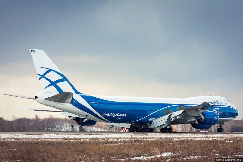 Первый визит Боинга 747-8F в Челябинский аэропорт