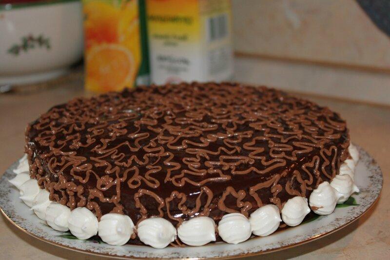 Торт графские развалины украшение