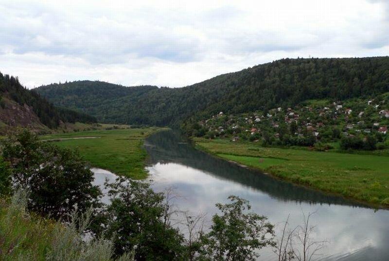 Природные пейзажи реки (28.05.2013)