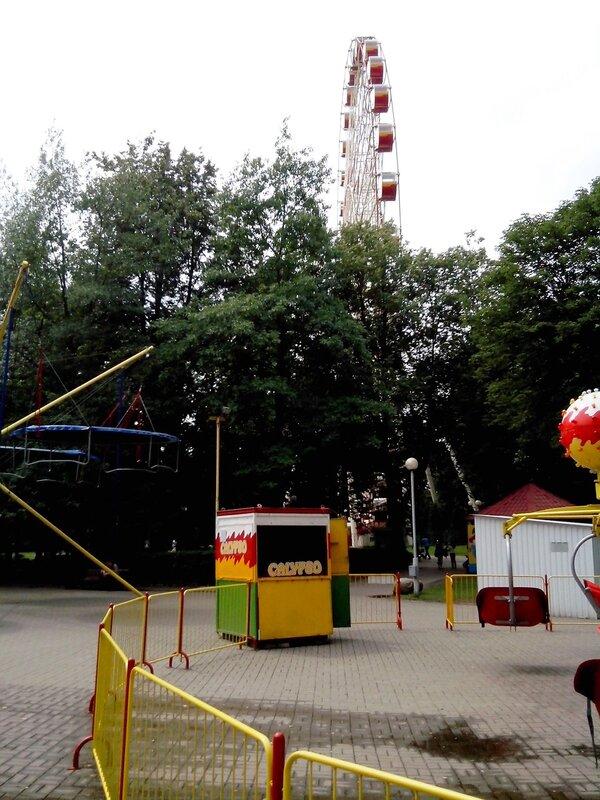 колесо обозрения Минска