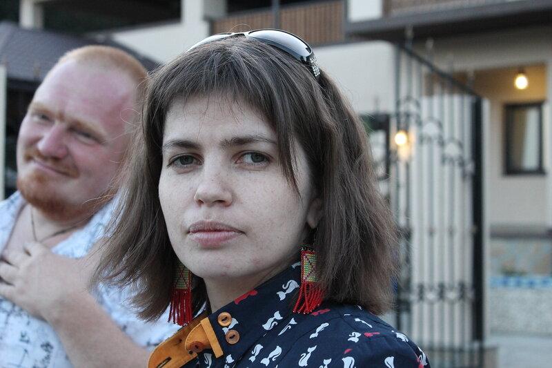 День рождения Маши Свалухиной.