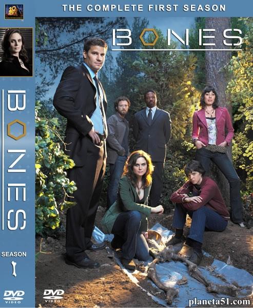 Кости (1-10 сезон: 1-211 серии из 211) / Bones / 2005-2015 / ДБ (ТВ3) / DVDRip, WEB-DLRip