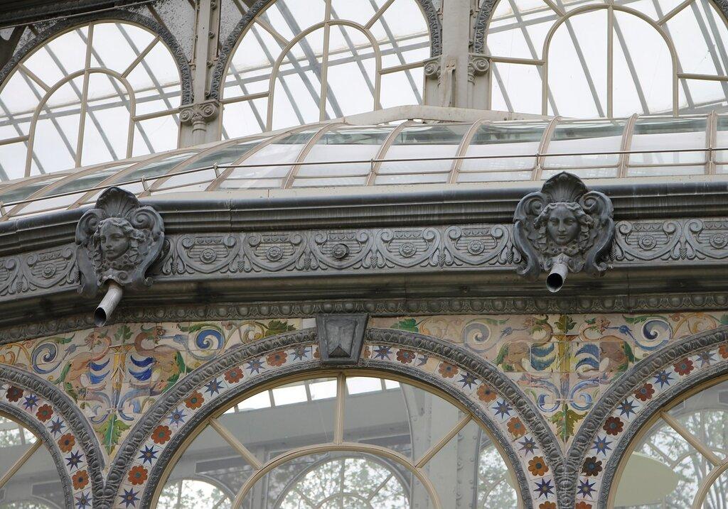 Мадрид. Парк Ретиро. Хрустальный дворец (Palacio de Cristal del Retiro)