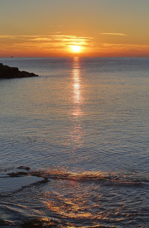 Торревьеха. Рассвет на набережной Хуана Апарисио