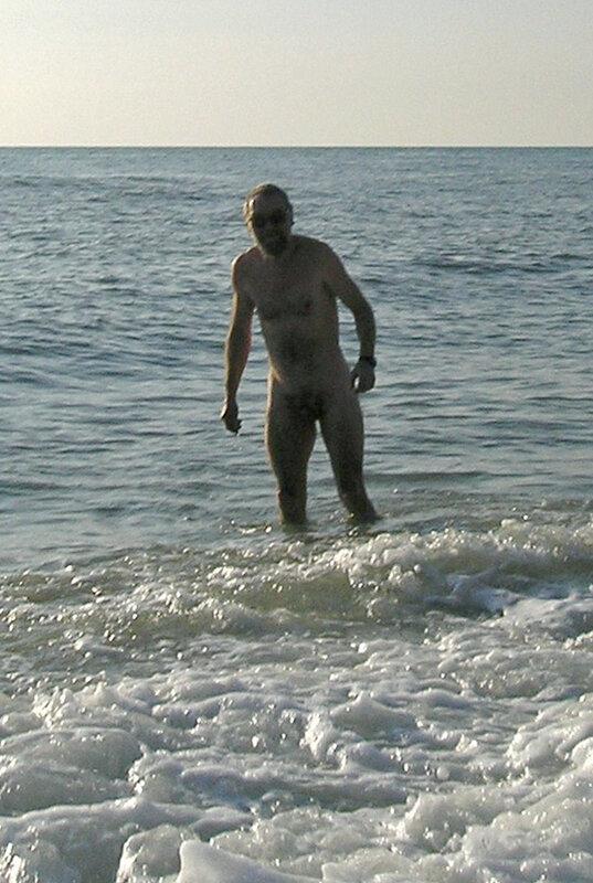 Фото 24. Я на зимнем пляже