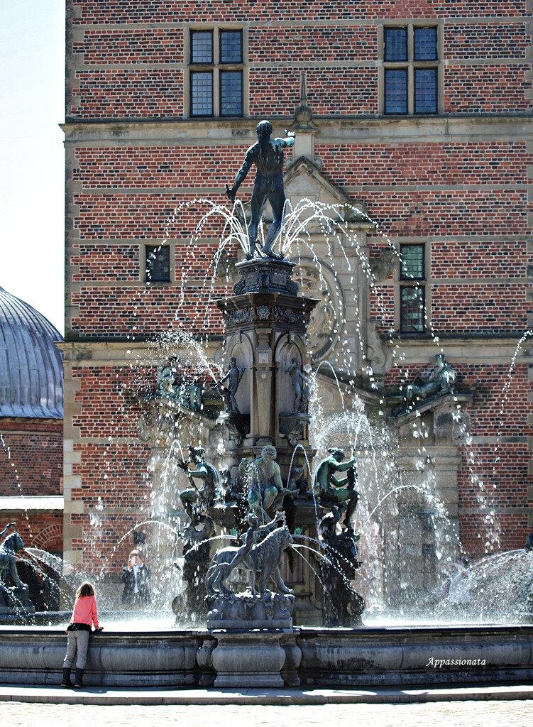 Дания. Замок Фредериксборг