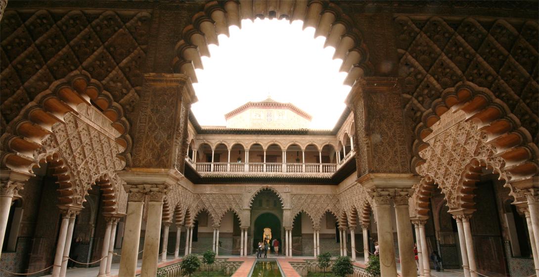 Королевский дворец Дорна Дворец Альказар, Севилья, Испания