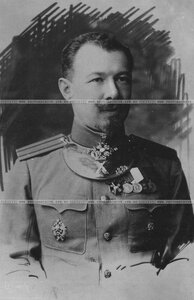 Полковник бригады в повседневном кителе (портрет).