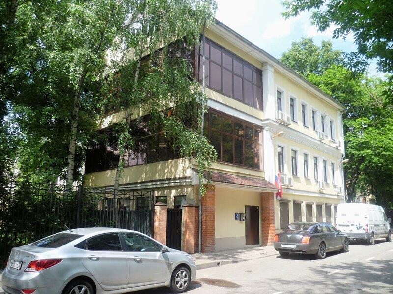 Улица Константина Симонова.