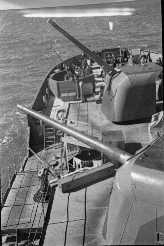 Артиллерийское вооружение советской канонерской лодки «Нора»