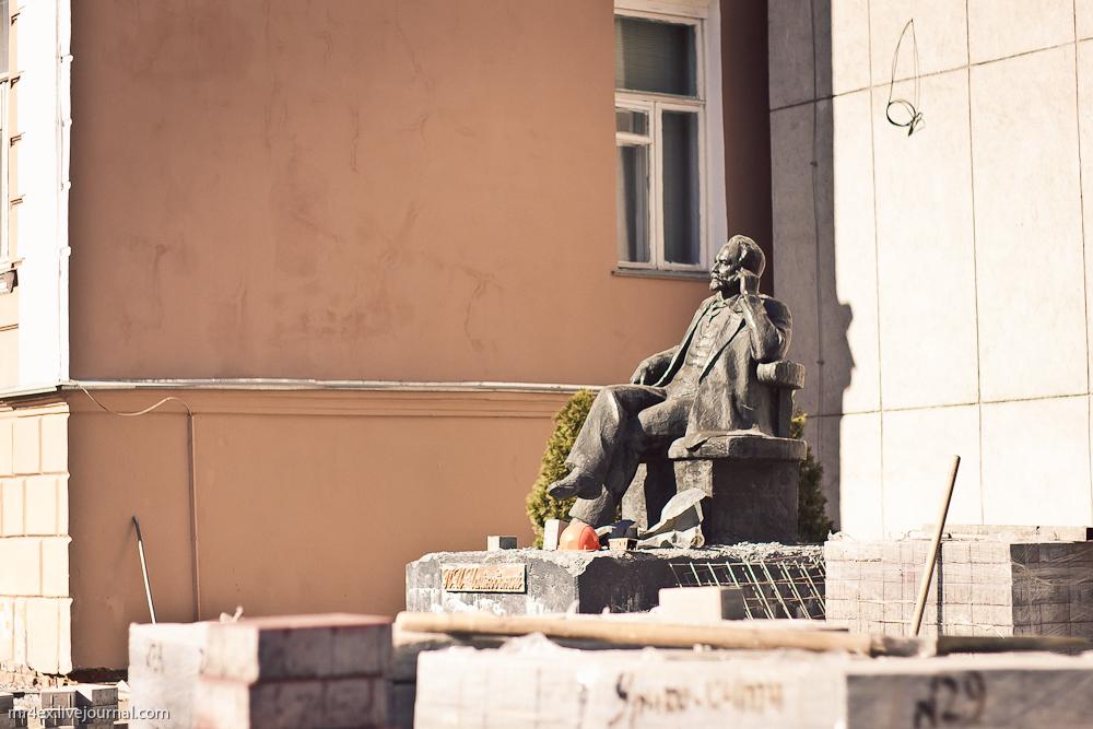 Гомель, памятник Чайковскому