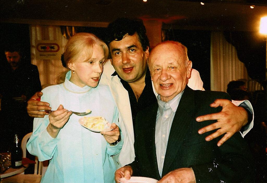 Лилия Толмачева, Стас Садальский и Виктор Розов.