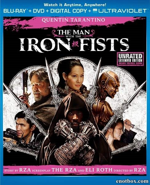 Железный кулак / The Man with the Iron Fists (2012/BDRip/HDRip)