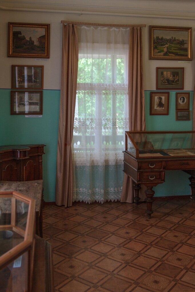 Интерьер музея Чкалова