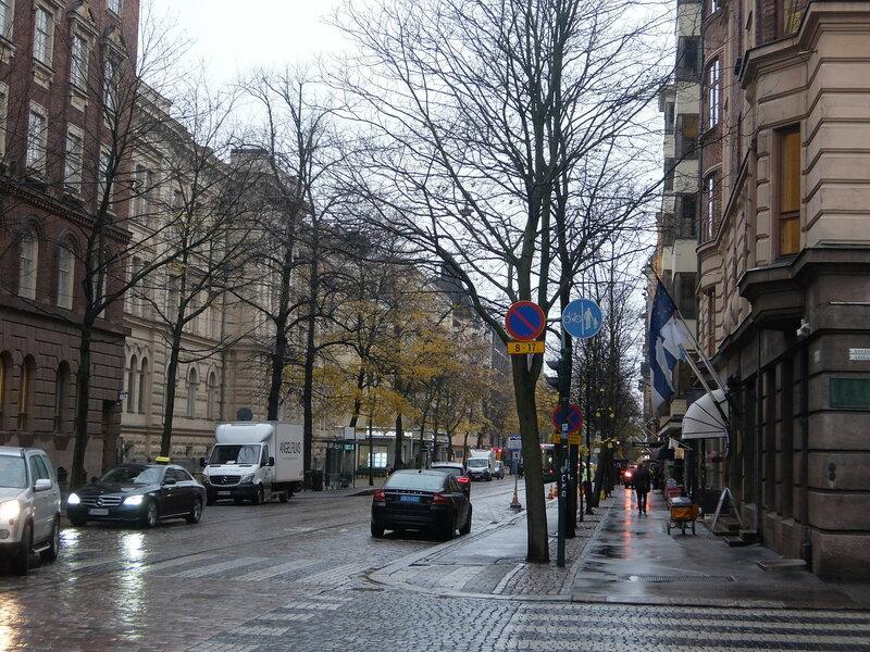 Хельсинки - Пешеходный переход