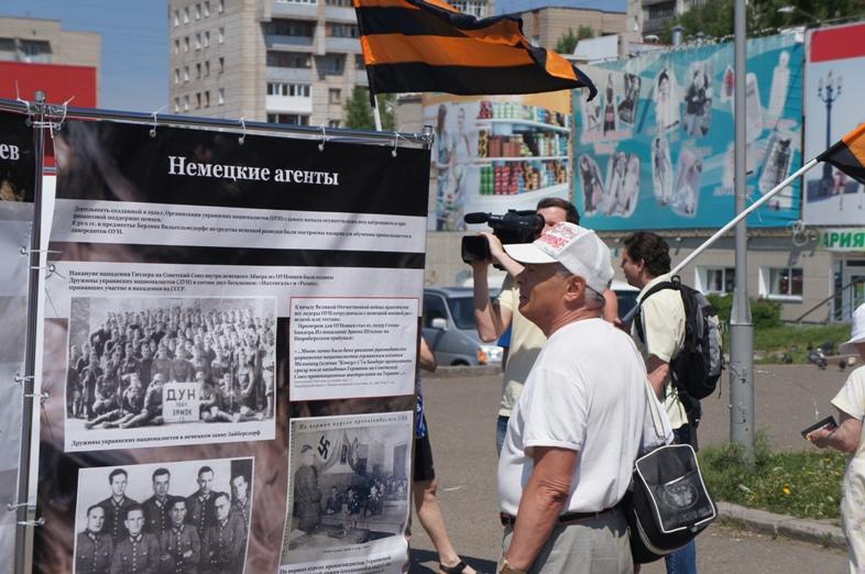 Пикет в Томске 22 июня 10