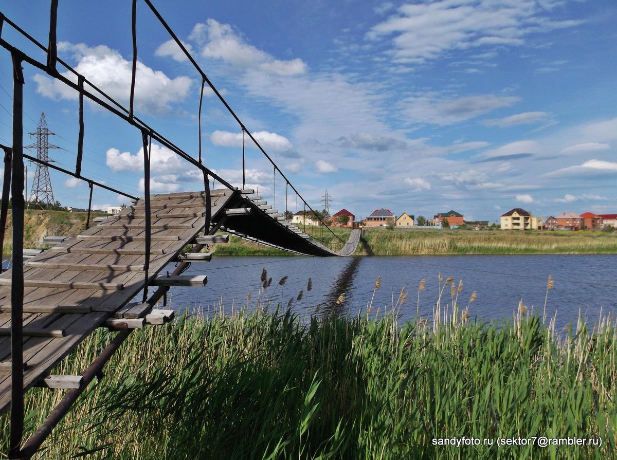 Велопрогулка вдоль берега реки Уй