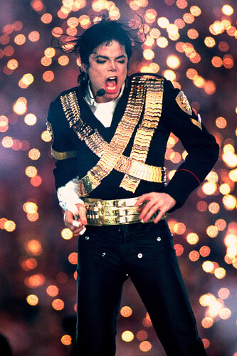 Michael Jackson Performs Halftime Show - Super Bowl XXVII - January 31, 1993