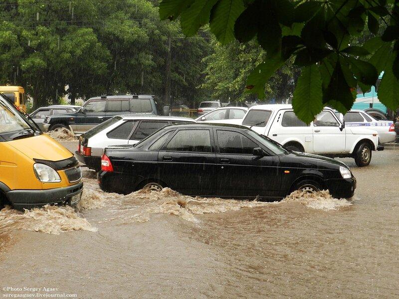 Очередной потоп в районе Автовокзала