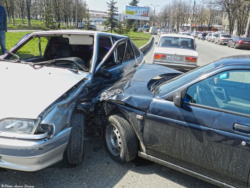 Авария возле Автовокзала