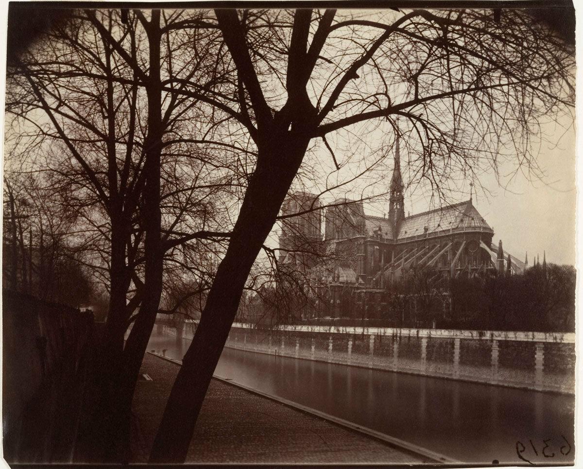 1922. Собор Парижской Богоматери