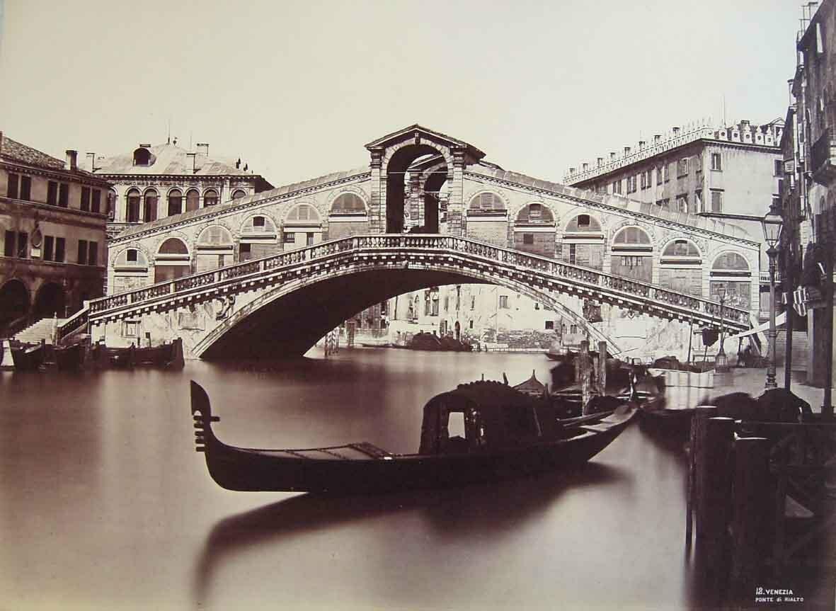 Мост Риальто, 1875
