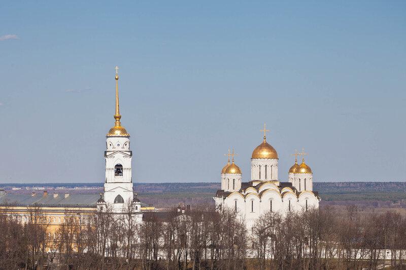 Успенский собор и колокольня - Владимир