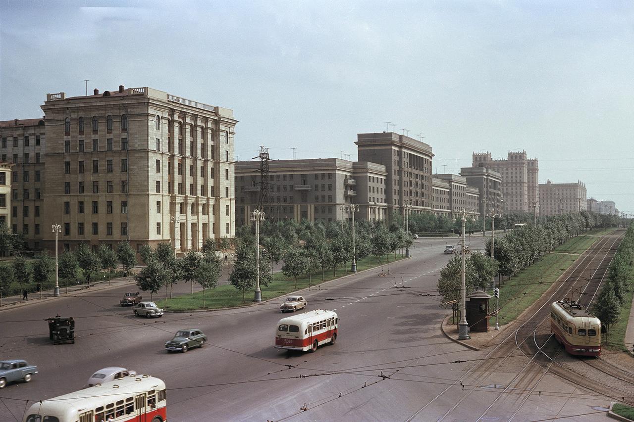 Москва 50-х