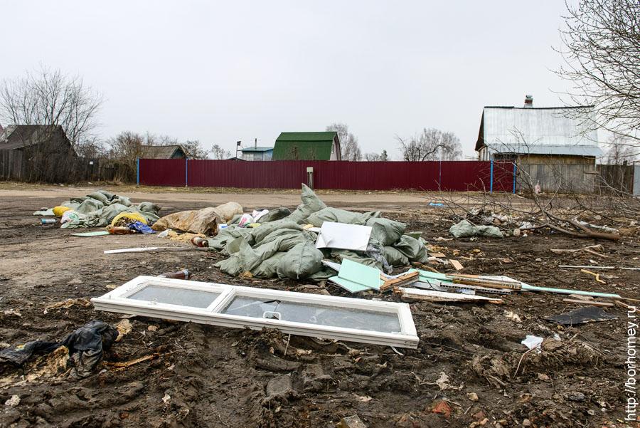 мусор контейнеры в садовом обществе