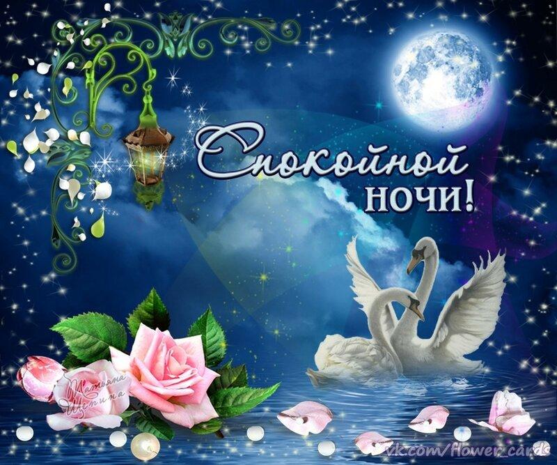 Открытки тихой доброй ночи