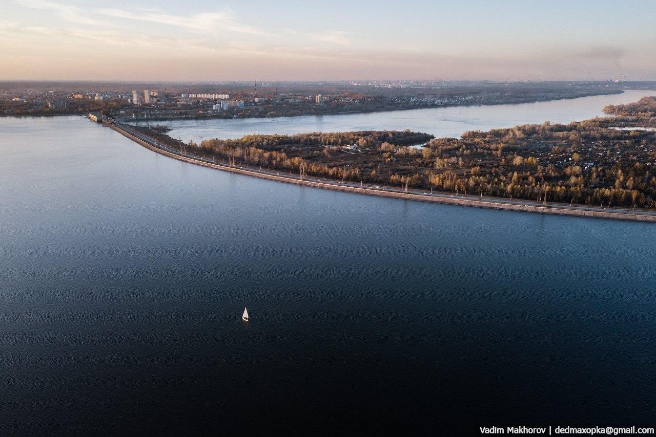 Все краски Новосибирска в таймлапсе от фотографа, который целый год снимал город с воздуха (15 фото)