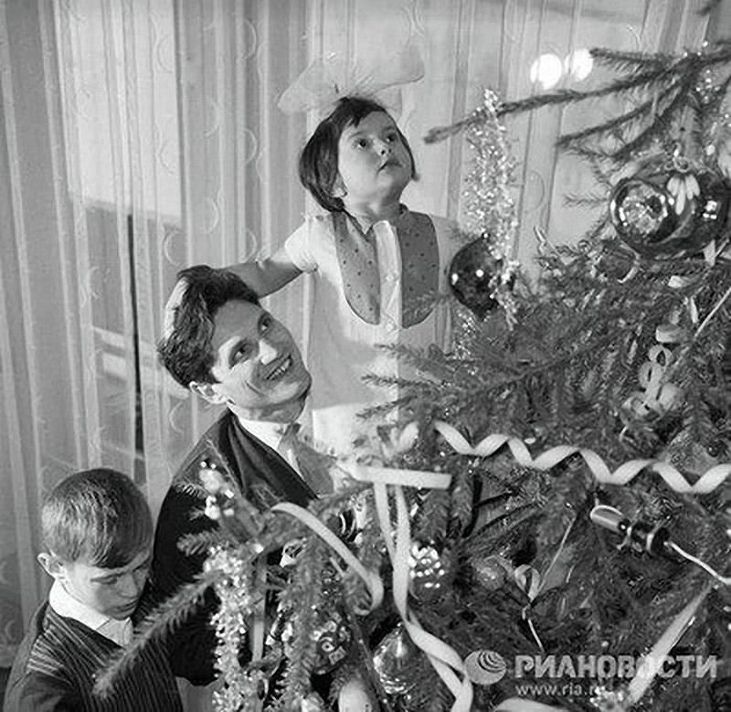 Новый год ностальгия СССР утренник