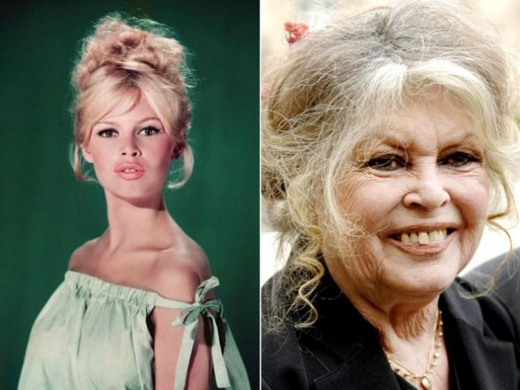 знаменитости старость тогда и сейчас