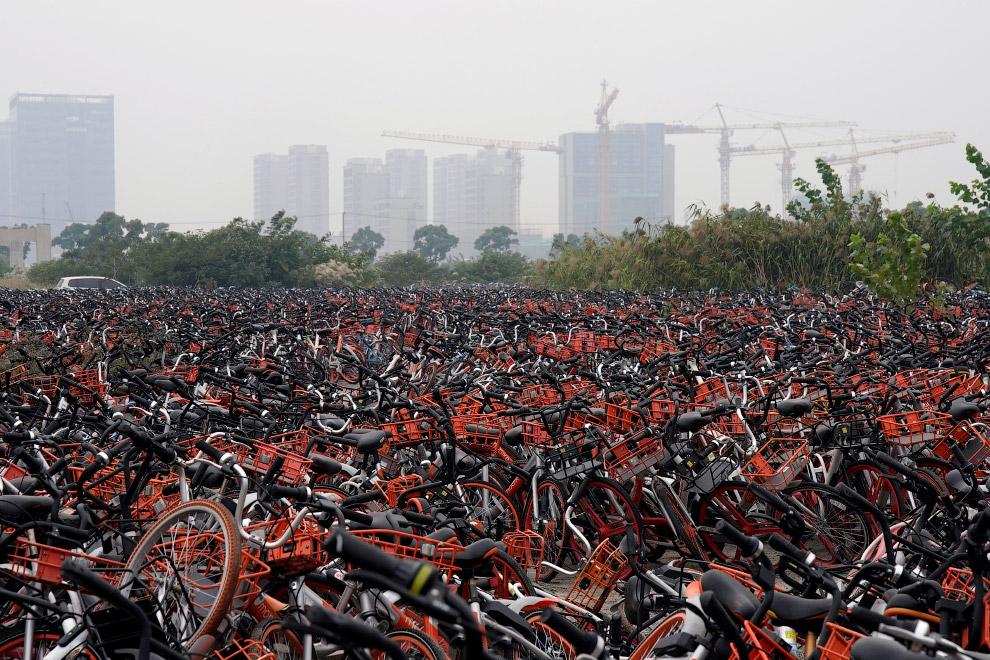 HD велосипед Китай кладбище