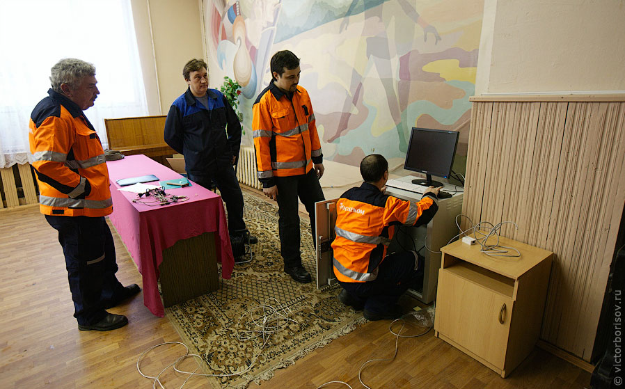выборы президент Россия техника