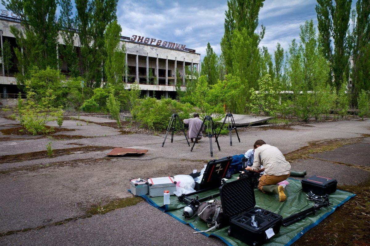 Вдали от современного мира: работа в Чернобыле