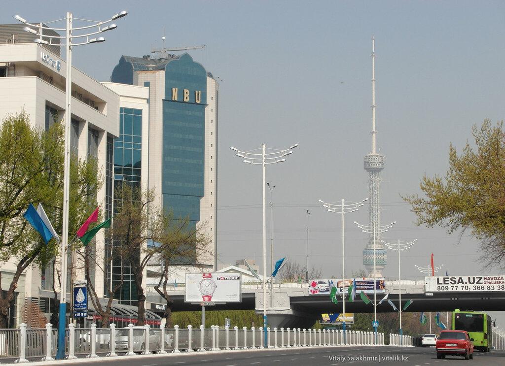 Телевышка в Узбекистане, Ташкент