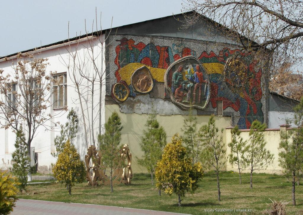 Фреска, улица Казыбек би, Шымкент