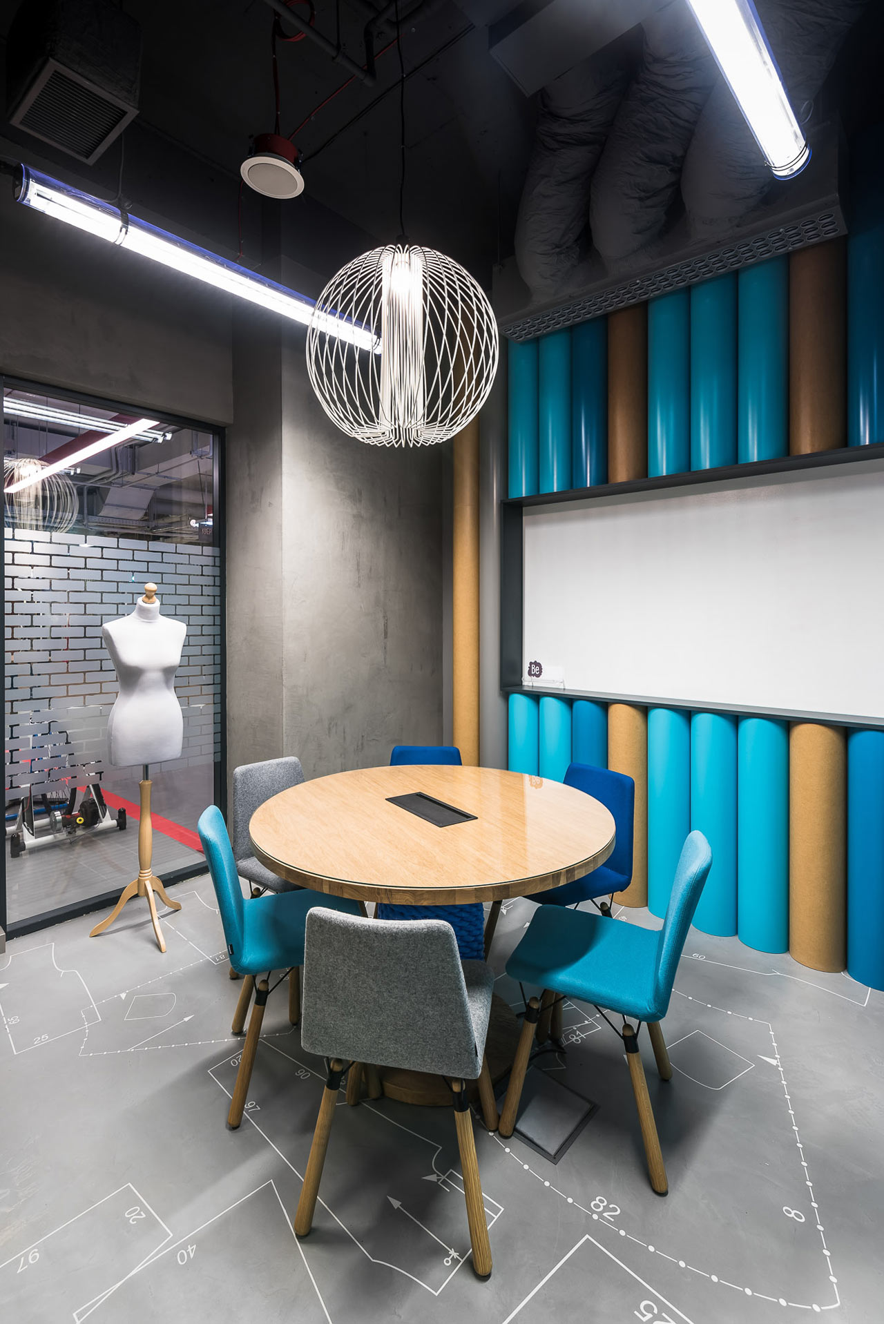 Creative Brain-Themed Co-Working Space in Warsaw